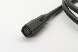 HIGO-B8-F #DE Steckverbinder mit 1 m Kabel #EN connector with 1 m cable