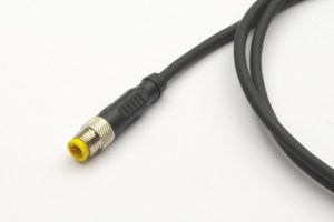 HIGO-S3-C #DE Steckverbinder mit 1 m Kabel #EN connector with 1 m cable